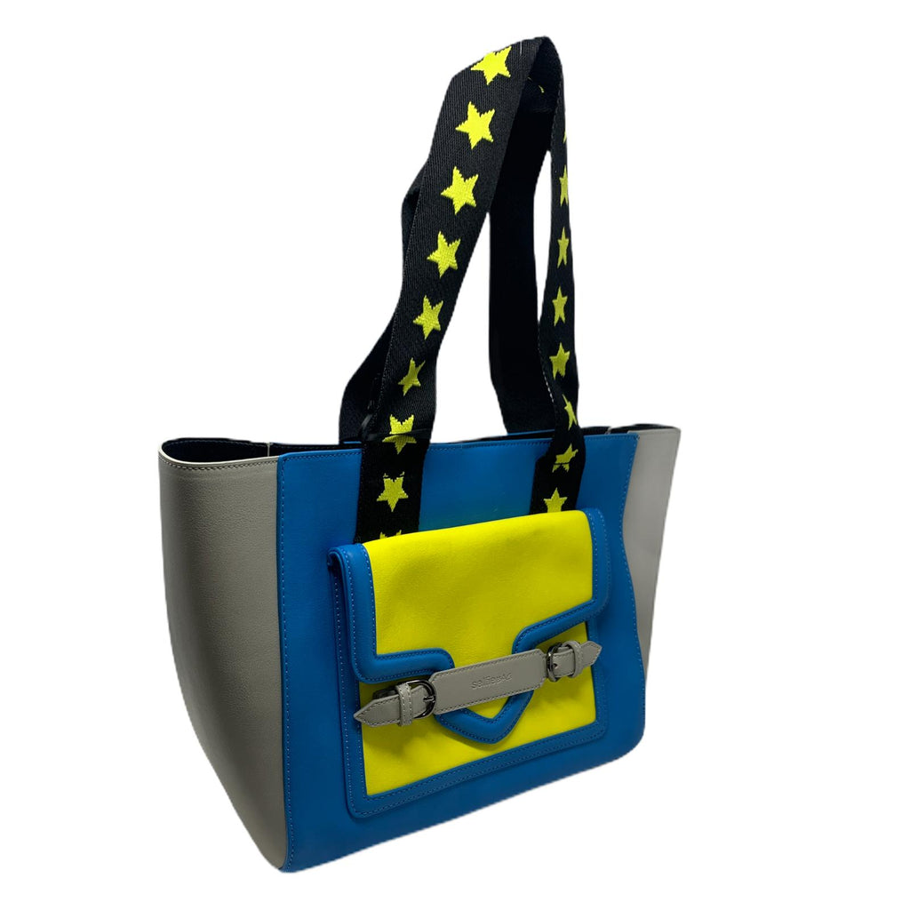 Borsa Star Yellow Selfie Bag People Shopper