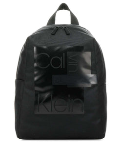 Zaino Calvin Klein Layered Round BackPack Nero