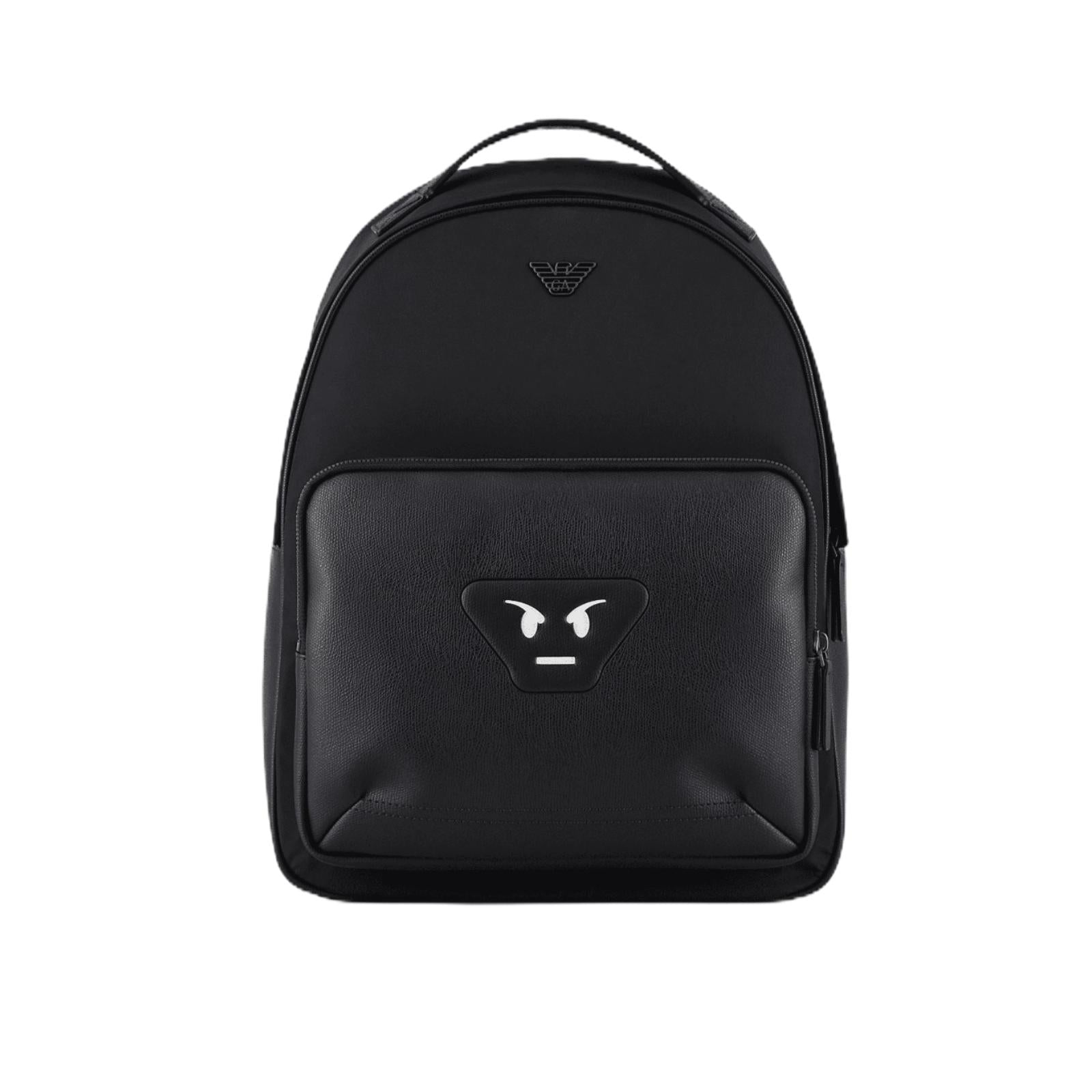 Zaino Emporio Armani Nylon Backpack Black Smile