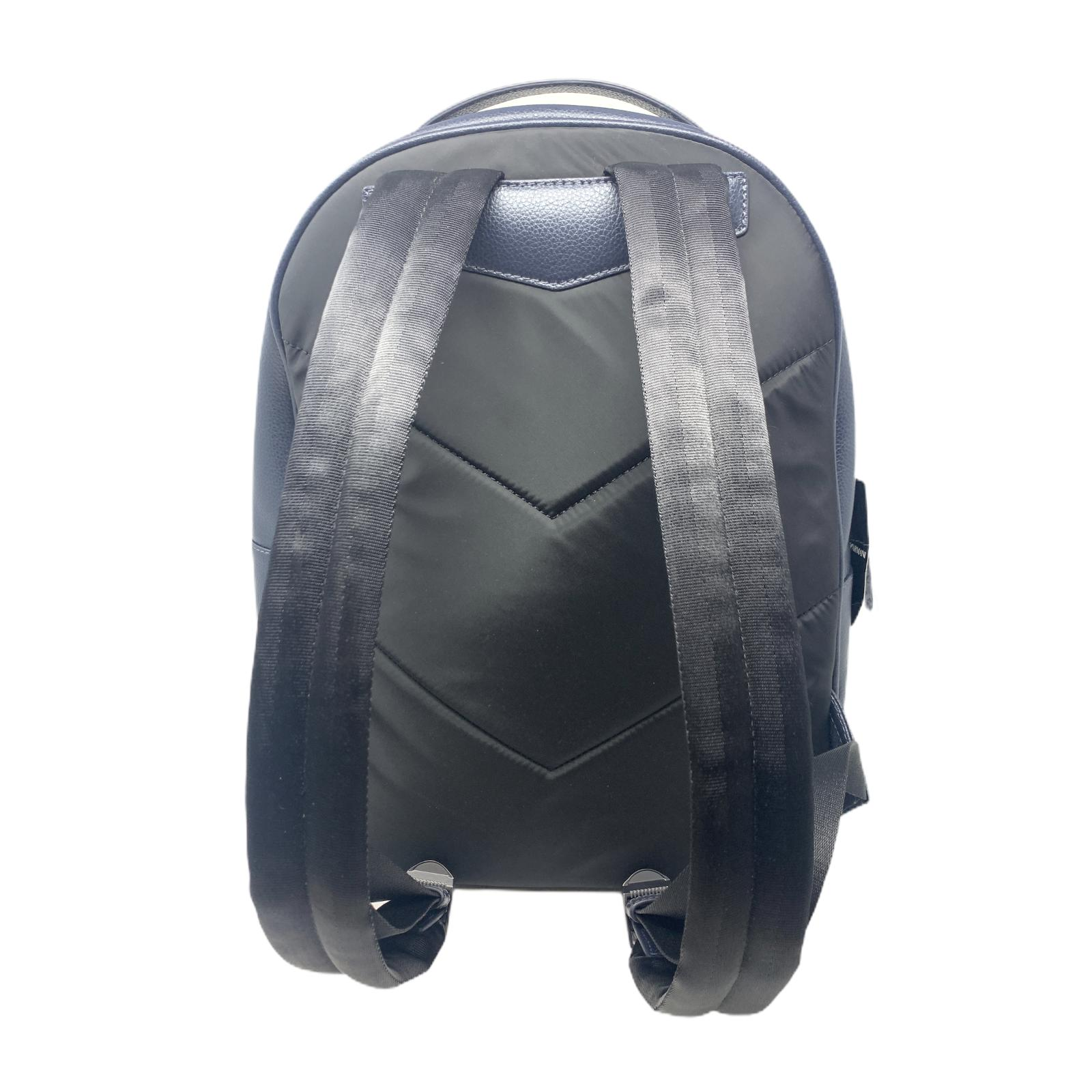 Zaino Emporio Armani Vitello Botallato BackPack Nero