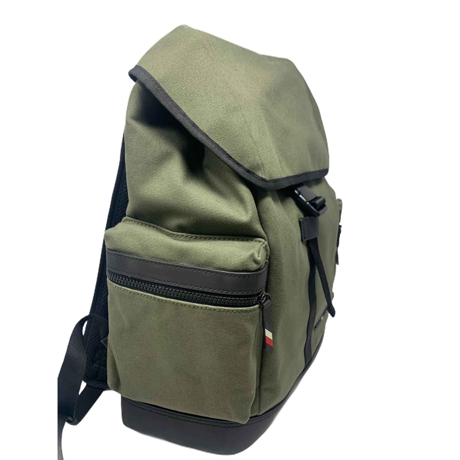 Zaino Tommy Hilfiger Utility Canvas Flap Backpack