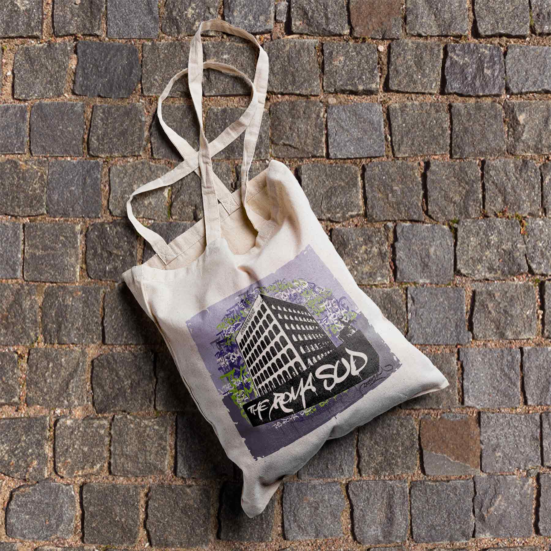 Colosseo Quadrato by Datech Shopping Bag Organic
