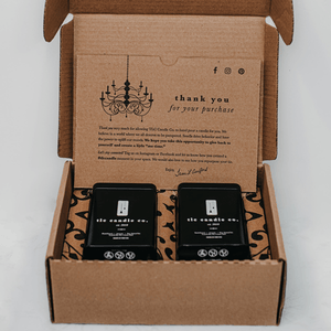 """His Space"" Luxury 2-Wick Candle Duo - Veri Vera"