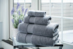 Load image into Gallery viewer, 100% Organic Cotton Turkish Dobby Design Bath Towel Set - Veri Vera