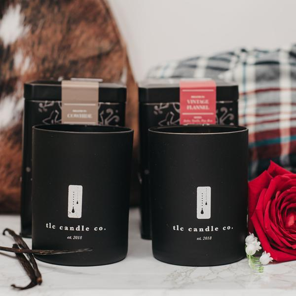 """His Space"" Luxury 2-Wick Candle Duo - [Veri Vera]"
