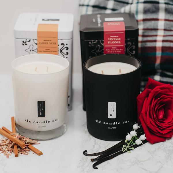 """Home Sweet Home"" Luxury 2-Wick Candle Duo - [Veri Vera]"