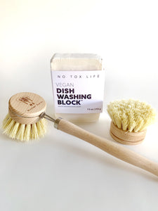 Fiber Dish Brush - Long Handle - Veri Vera