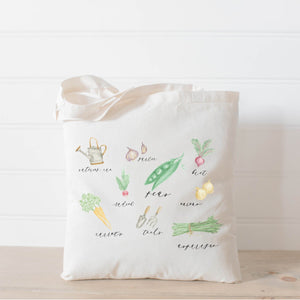 Vegetables - Canvas Tote Bag - Veri Vera