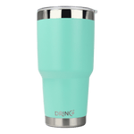 Load image into Gallery viewer, DRINCO® 30oz Insulated Tumbler Spill Proof Lid w/2 Straws (Teal) - Veri Vera
