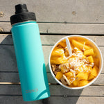 Load image into Gallery viewer, 20oz Stainless Steel Sport Water Bottle - Teal - Veri Vera