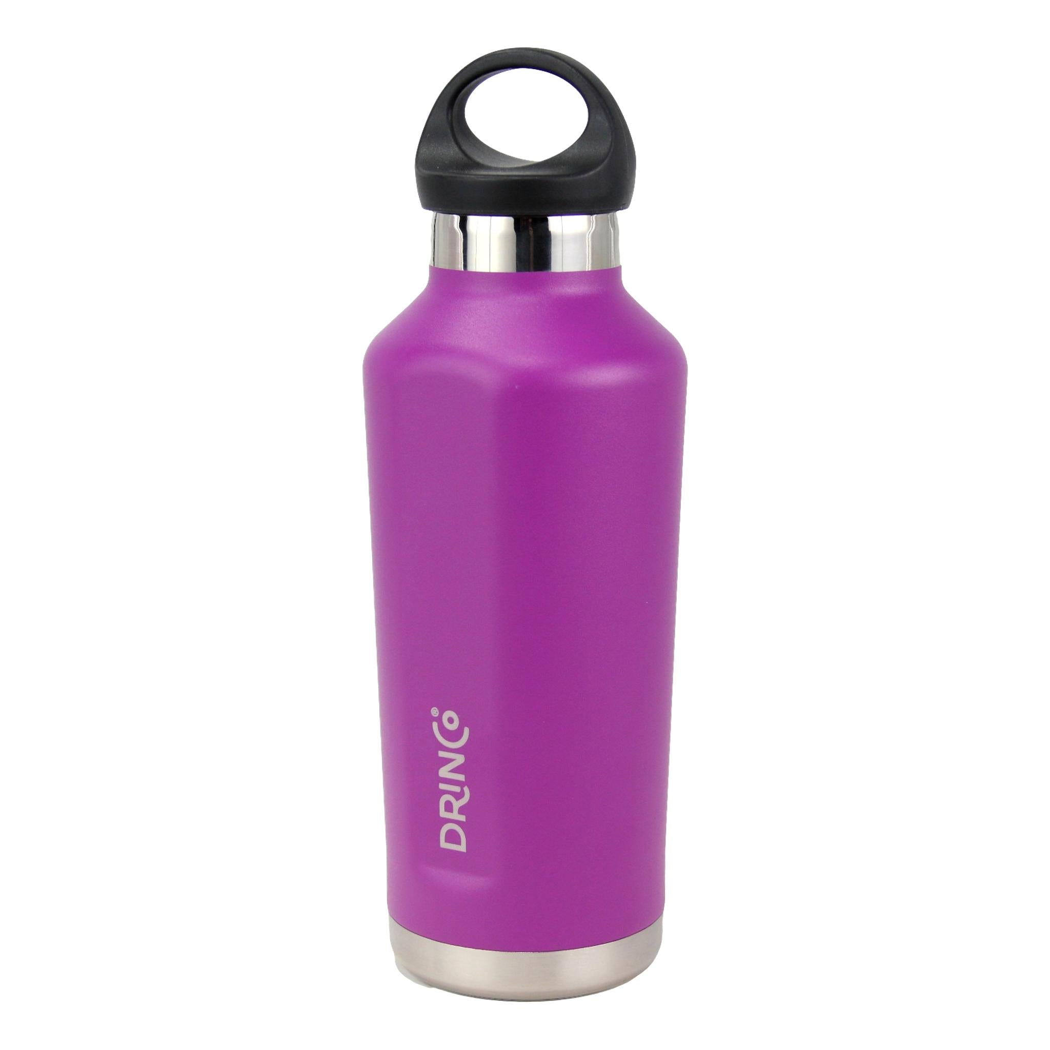 17oz Stainless Steel Tapered Water Bottle - Deep Purple - Veri Vera