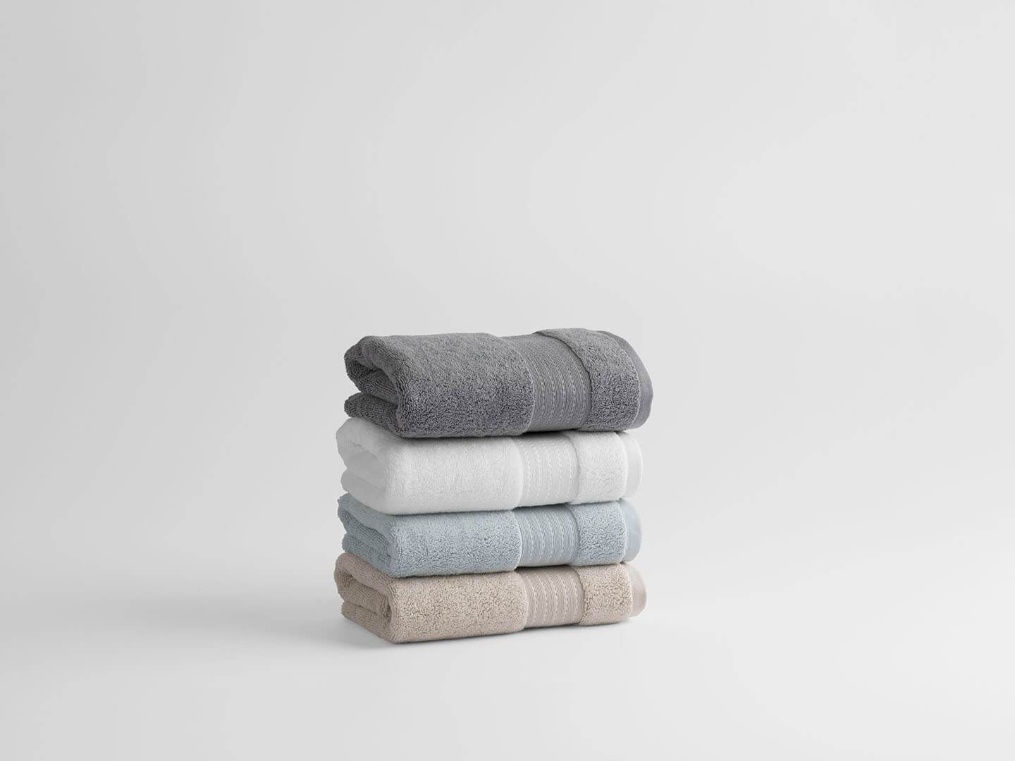 100% Organic Cotton Turkish Dobby Design Hand Towels (Pair) - Veri Vera