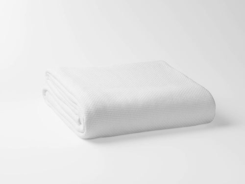 100% Organic Cotton Basket Weave Blanket - Veri Vera