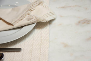 100% Organic Cotton Woven Placemats (Pair) - Veri Vera