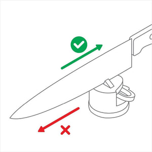 Suction Knife Sharpening Tool