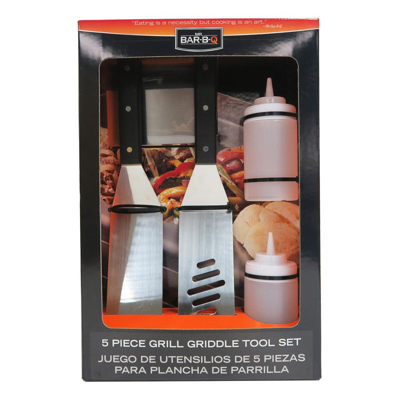 <b>Mr.Bar-B-Q</b> 5 Piece Griddle Set