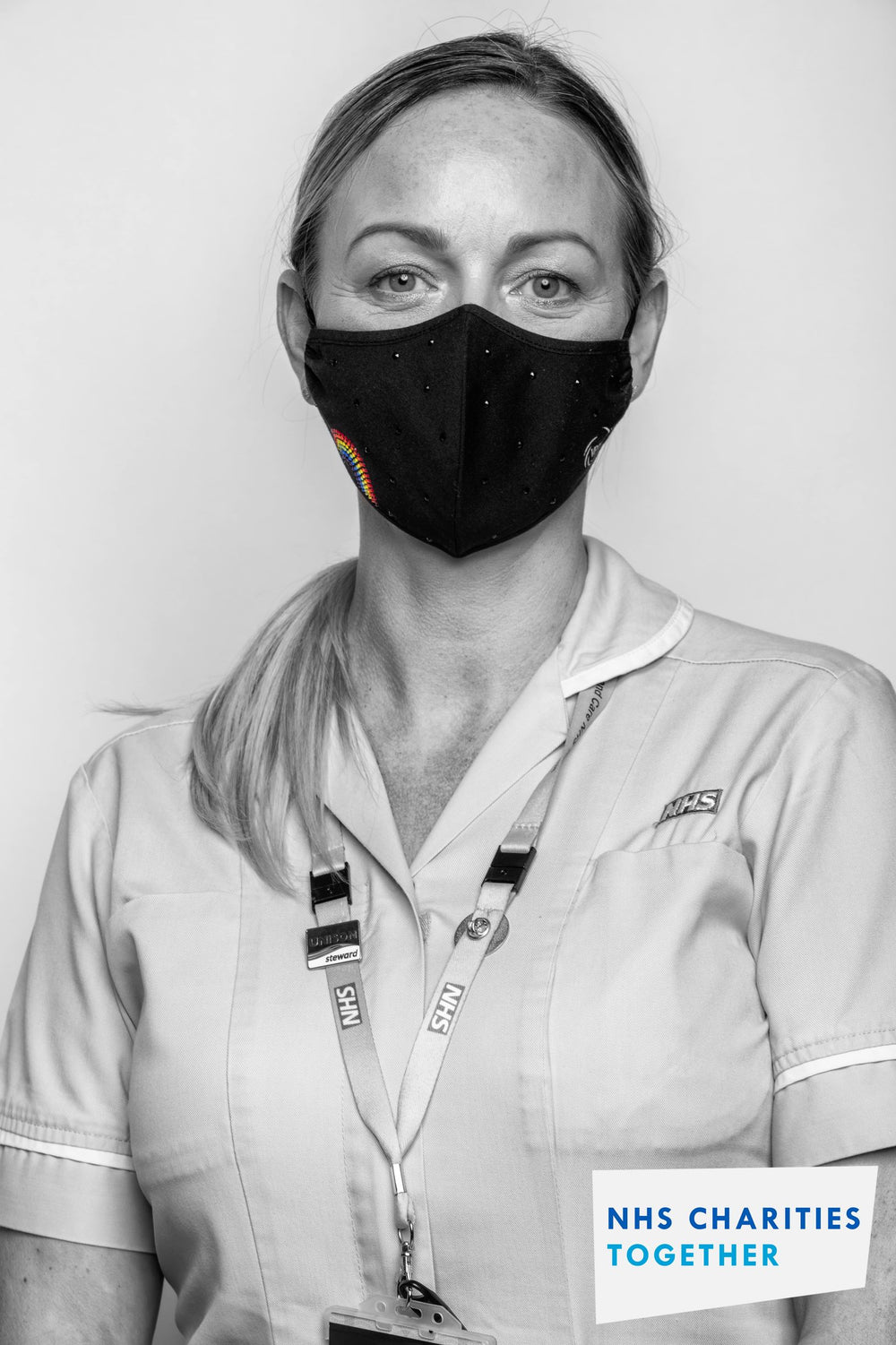 The Rainbow Mask: supporting NHS Charities Together - The Black Mask Company