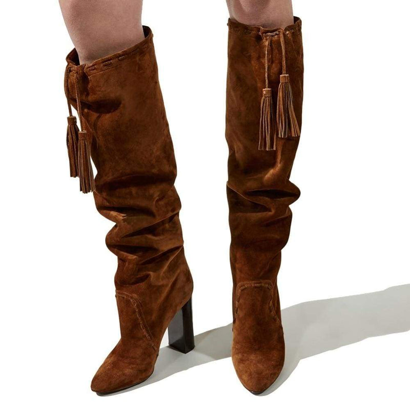 Drag Boots Kacey (Brown or Black) Boots