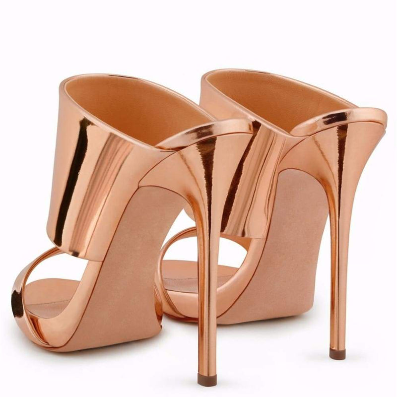 Drag Sandals Katya (Rose Gold or Nude) Sandals