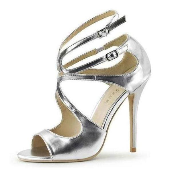 Drag Shoes Alaska (4 Colors) Sliver / 4 Pumps