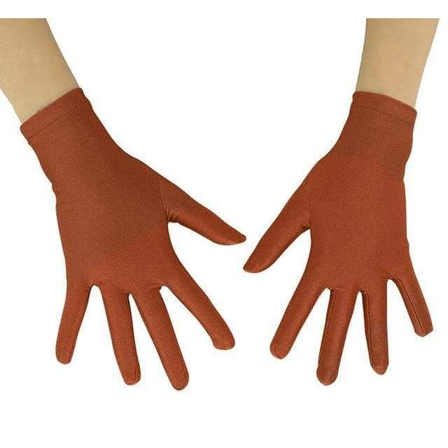 Gloves Drag Mimic (19 Colors) Coffee / 10 Inch Gloves