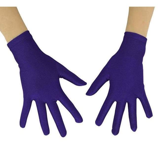 Gloves Drag Mimic (19 Colors) Dark Purple / 10 Inch Gloves