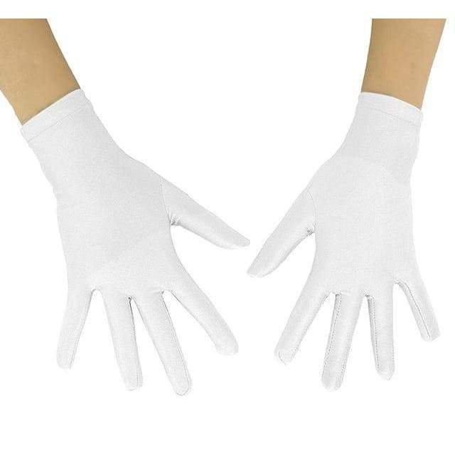 Gloves Drag Mimic (19 Colors) White / 10 Inch Gloves