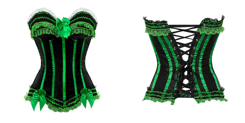 Corset Drag Michelle (Green or Red)