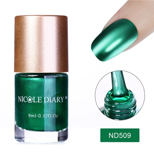 9ml Metallic Nail Polish (5 Colors)