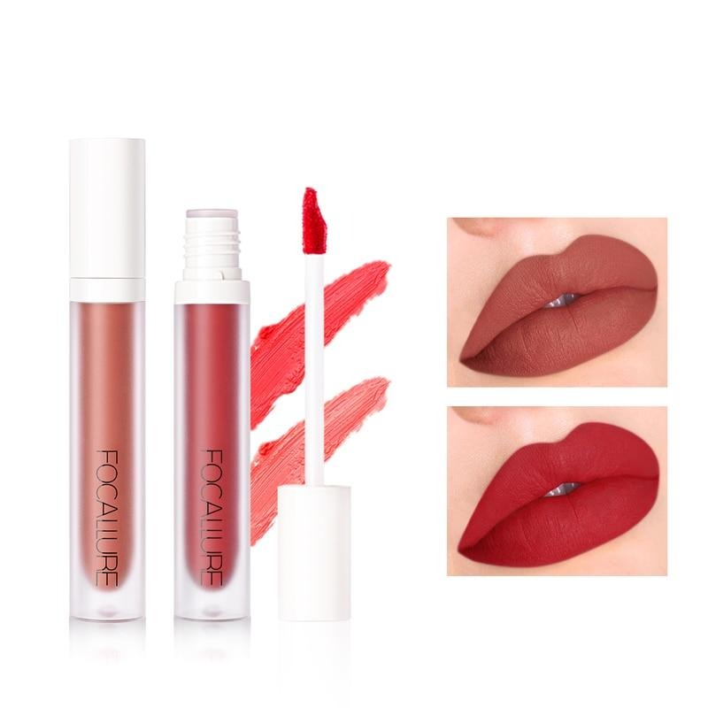 Matte Liquid Lip Gloss (9 Colors)
