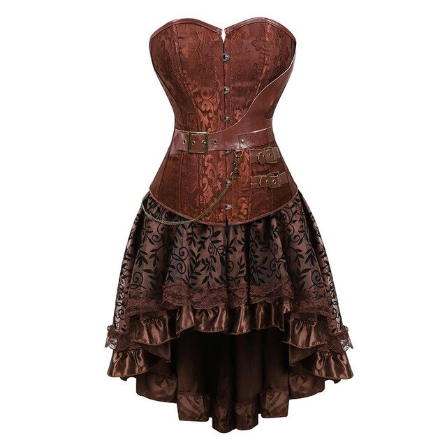 Corset Dress Drag Sahara