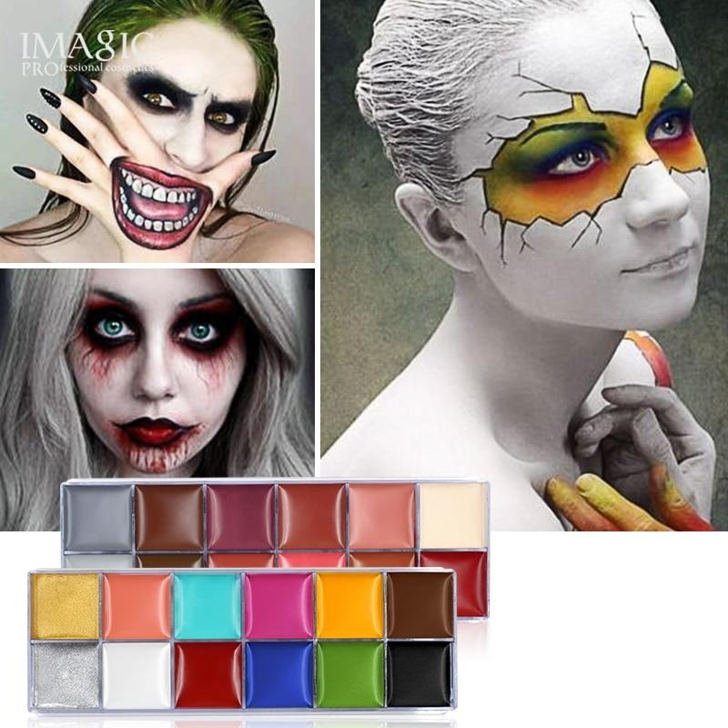 12 Colors Set Oil Body Paint (2 Variants)