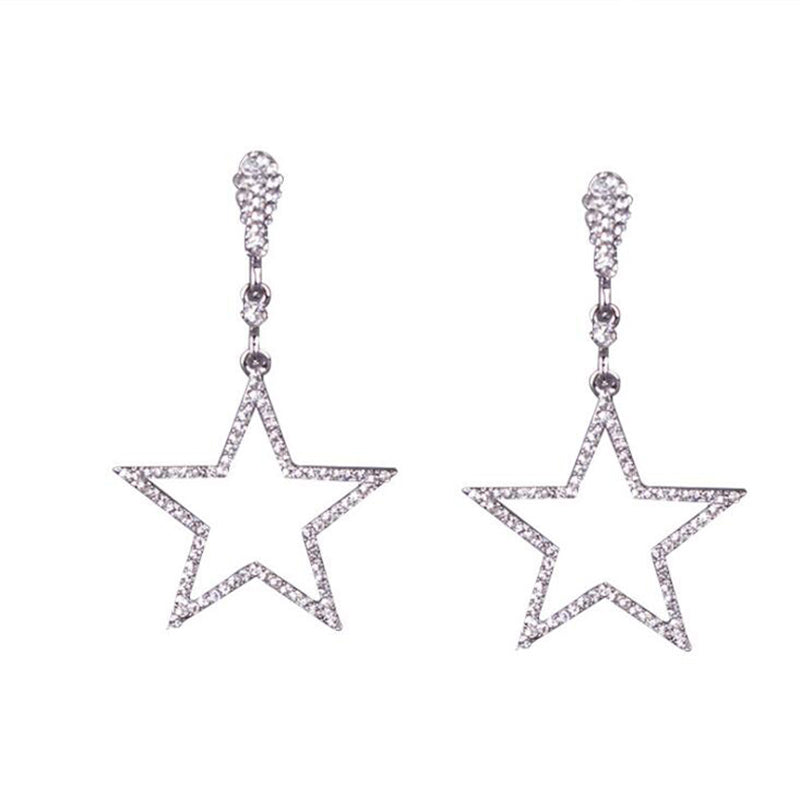 Clip Earrings Queen Stars