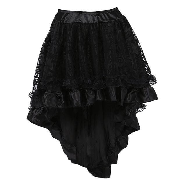 Skirt Lady Garbo (3 Colors) Black / XXXL Skirt