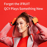 QCY T5 Wireless Bluetooth Headphones - Silverlight sound