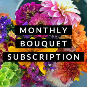 Bouquet Subscription Monthly 2021