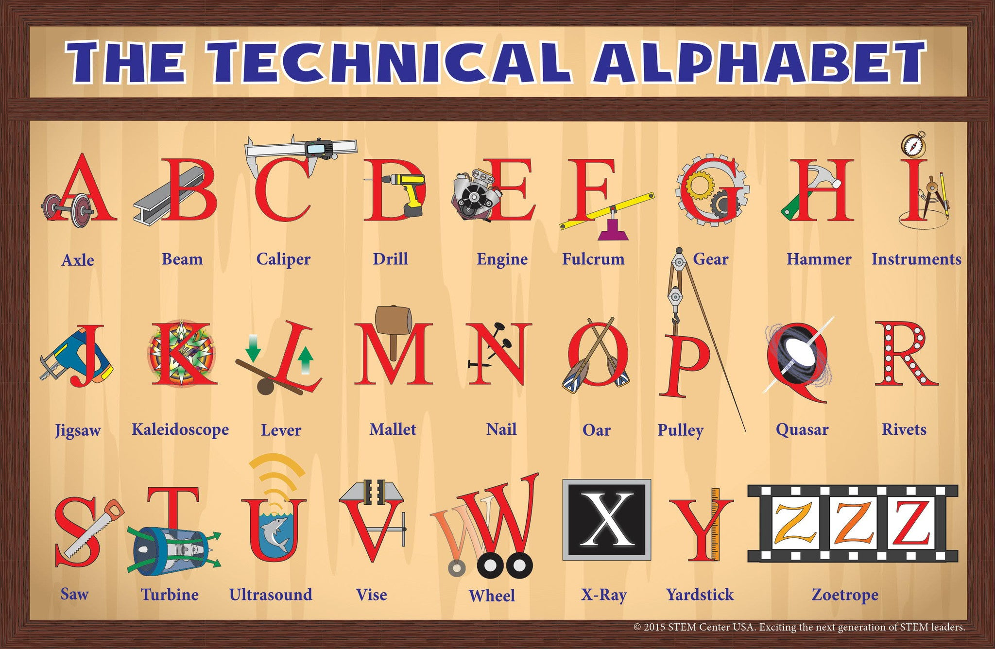 The Technical Alphabet Talking Technical For Kids