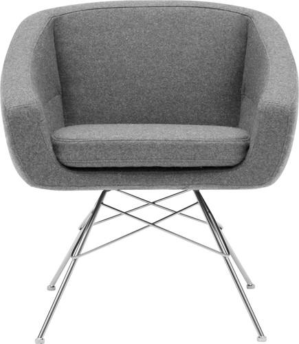 Aiko high - gestoffeerde fauteuil - PMS Projectinrichting