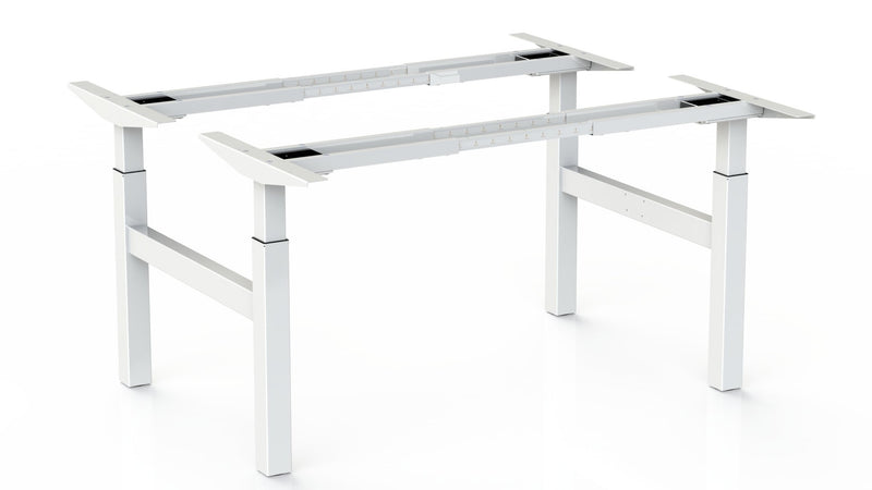 Steelforce Pro 370 SLS Bench - Dubbel Zit Sta Bureau - PMS Projectinrichting