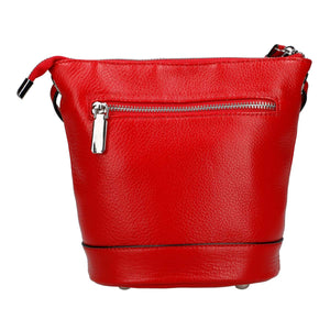 Shrink Leather Shoulder Bag