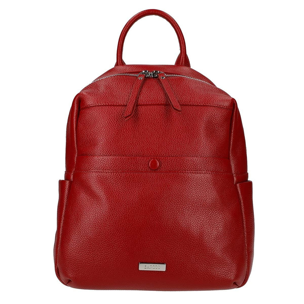 Shrink Leather Backpack
