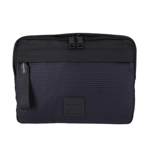 Nylon Honeycomb Patter Clutch Bag