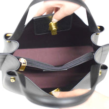Load image into Gallery viewer, Key Hole Design Leather Handbag