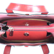 Load image into Gallery viewer, Glossy Leather 2 Way Handbag