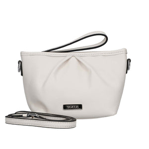2 Way Leather Pouch with Shoulder Strap Attachment