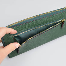 Load image into Gallery viewer, Emma L-shaped Leather Good Luck Wallet