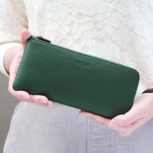 Emma L-shaped Leather Good Luck Wallet