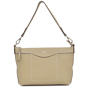 2 Way Shrink Leather Shoulder Bag