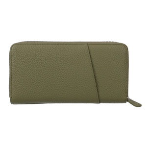 Annie Leather Long Wallet