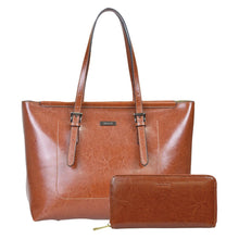 Load image into Gallery viewer, Black Friday's Most Fashionable Leather Tote Bag and Wallet Bundle